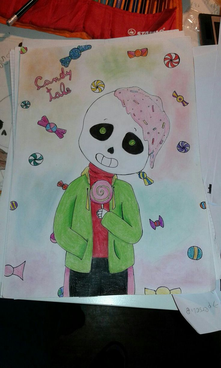 Candytale Sans >w< so cuuuute