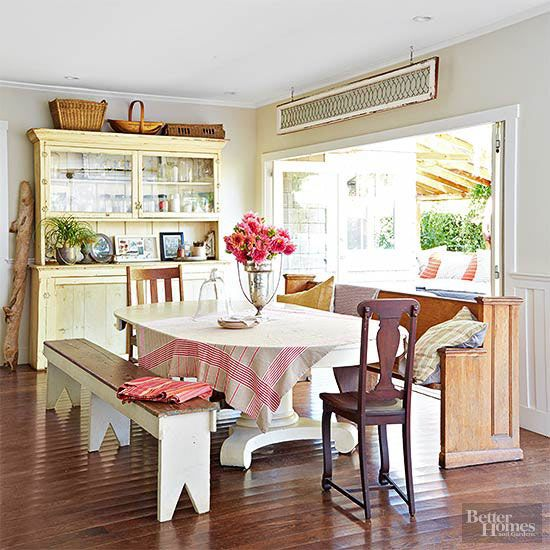 Outdoor Entertaining Spaces Dining Room BenchDining