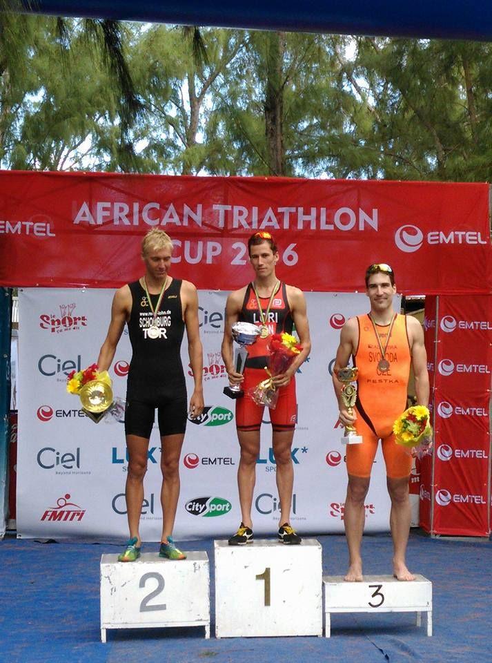 Úspěch Tomáše Svobodu na sprinttriatlonu v Africe