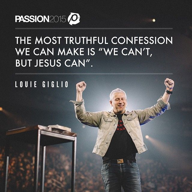 Satan is finished. Jesus is victorious. Our journey is just beginning. What a way to end #Passion2015 ATL 2! Thank you Louie Giglio for closing us out in such a strong way. Grateful for you!! #Passion2015