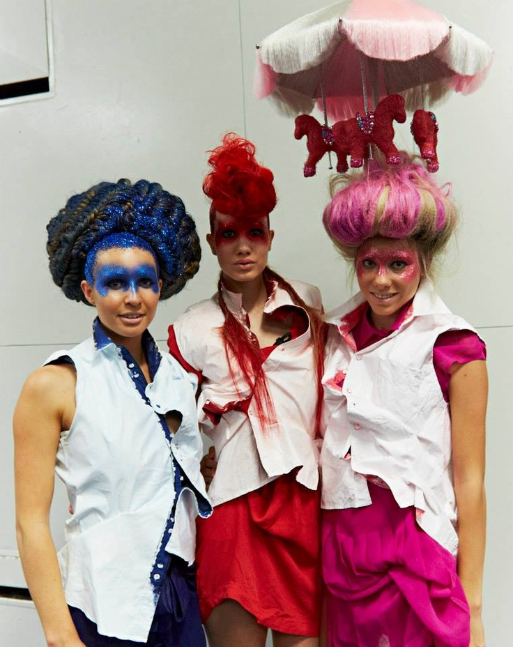 Behind the scenes of L'Oreal Professionnel Australia Hair Expo 2013 in Sydney