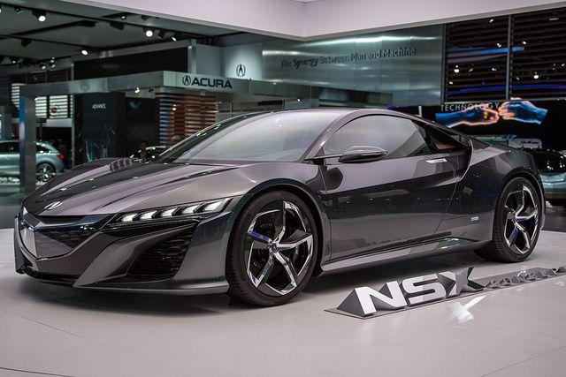 Acura NSX Supercar Prototype