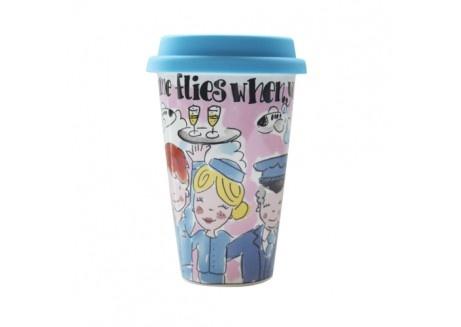 Blond Amsterdam: KLM koffie mok