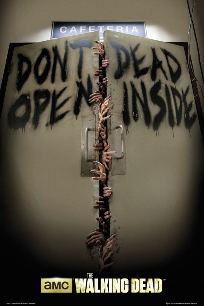 Walking Dead Keep Out - Official Poster. Official Merchandise. Size: 61cm x…