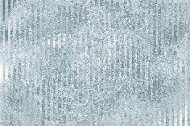 Specular Reflection - Blue Grey - Wall Mural & Photo Wallpaper - Photowall
