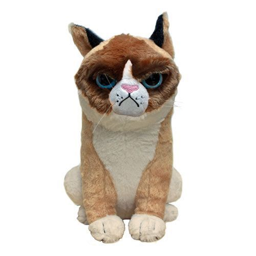 Grumpy Cat Plush- I think I need to have this!!!