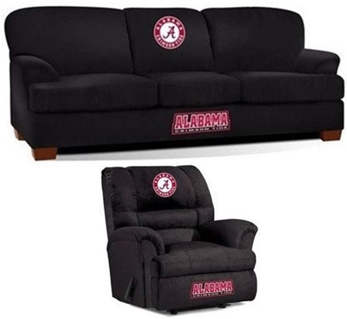 [[start tab]] Description The University of Alabama Crimson Tide All Star Fan Cave Set is made especially for the Big and Tall Fan. It includes the Big Daddy Rocker Wall-Away Recliner and First Team S