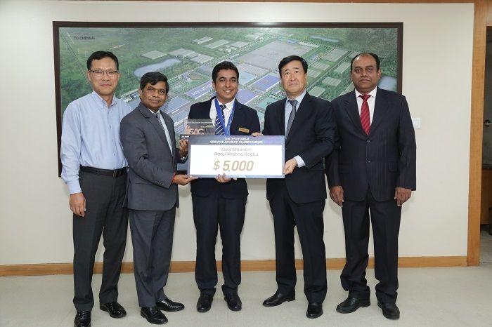 #HyundaiMotorIndia Team Wins Gold at 3rd WORLD SAC