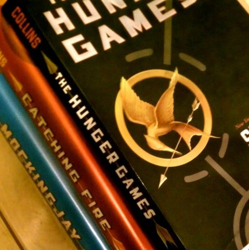 The Hunger Games! Suzanne Collins thank you for the amazing book, and all the wonderful opportunities <3