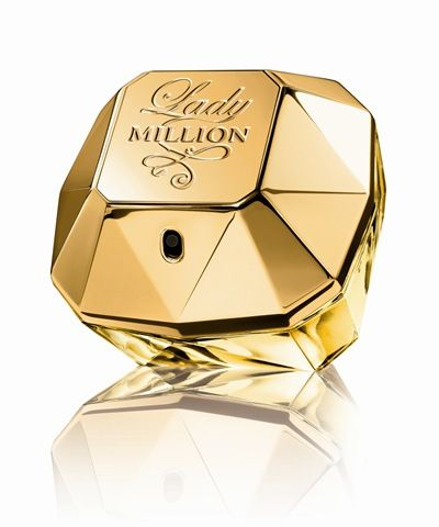 Lady Million by Paco Rabanne. My hunny got this for me for my birthday (to match his One Million cologne) and  now I LOVE it! Such a good fragrance.