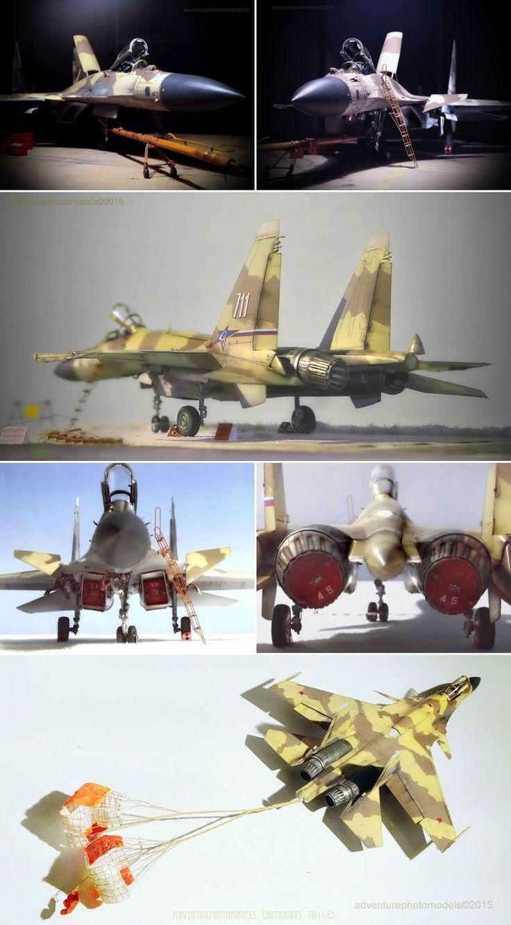 "Sukhoi F-37 (Cy-27)  code name "" Terminator ""  WindMark  resin conversion set  Academy Su-27b kit based 1:48 scale model"