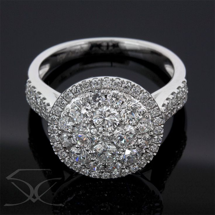 Halo Diamond Ring Product ID TWD/DDR476 Diamond Ring Information Metal: 18K White Gold Setting: Pave Minimum Carat Weight: 1.78 carats Minimum Colour: F - G Minimum Clarity: VS1 - VS2 Finger Size: M ½ Price: $3,590.00 ex. GST Suite 403, Level 4 250 Pitt Street, Sydney Tel: +61412461008 Please visit us here https://tinyurl.com/y7p9276f  OR view the map link http://ow.ly/Seuv30gZh3L