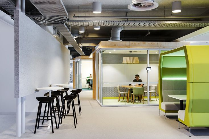 Agile office design at rea group offices in melbourne for Office interiors melbourne