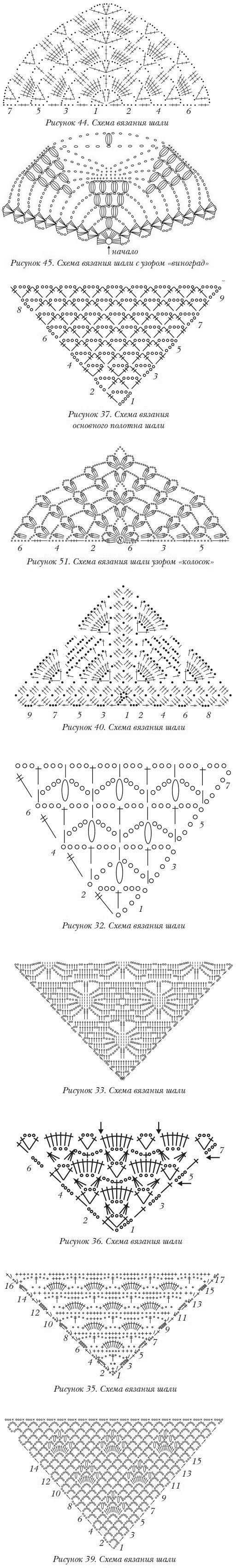 SCIALLI schemi crochet RUSSO