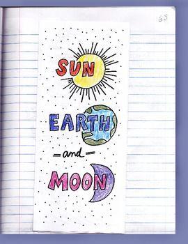 solar system foldable notebook - photo #36