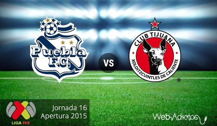 Puebla vs Tijuana, Fecha 16 del Apertura 2015 ¡En vivo por internet! - http://webadictos.com/2015/11/08/puebla-vs-tijuana-apertura-2015/?utm_source=PN&utm_medium=Pinterest&utm_campaign=PN%2Bposts
