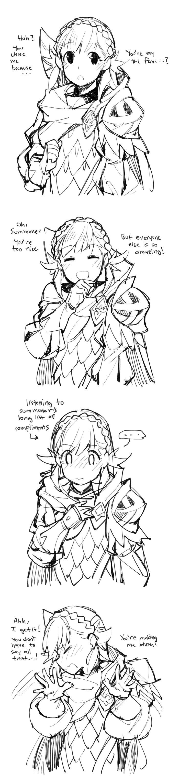 Fire Emblem Heroes - Sharena is a cutie