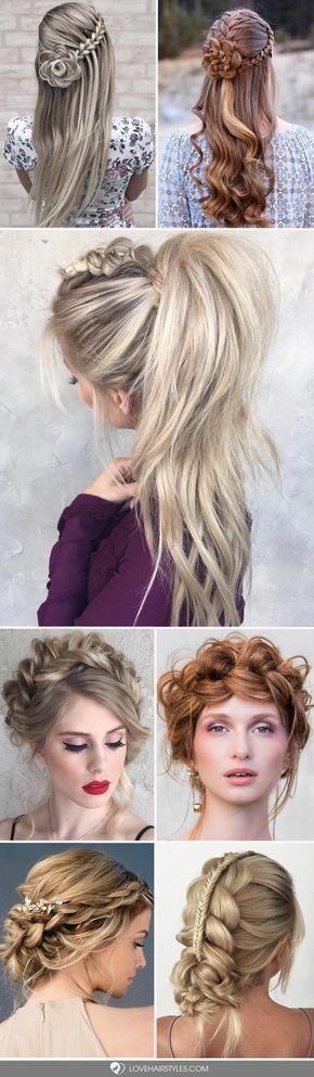 There are so many hairstyles for long hair that your head starts to spin when you try to choose one for today. The choice will be easier for you with us. #longhair #braidedhairstyles #hairstyles #diyhairstylesforprom