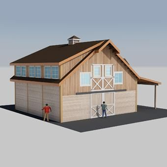 Denali Barn Apartment 36 Blueprint Planning Kit