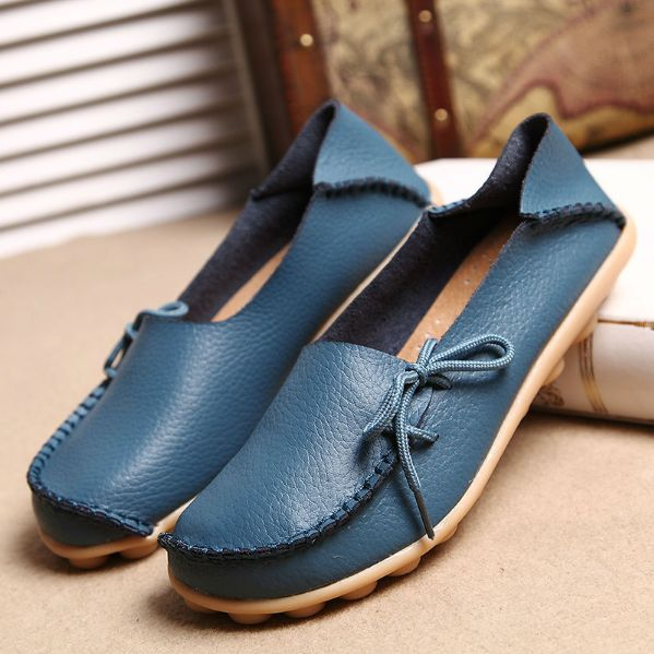 Real Leather Shoes Moccasins
