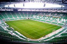 Nowy stadion wybudowany na Euro 2012.