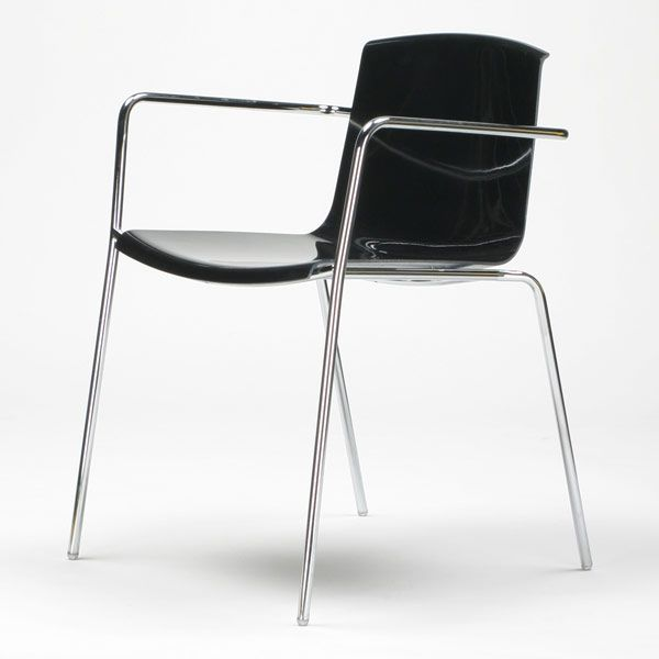 Piiroinen; Flakes chair, black