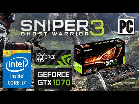 Sniper Ghost Warrior 3 PC Gameplay GTX 1070 and I7 5820K [Ultra Settings...