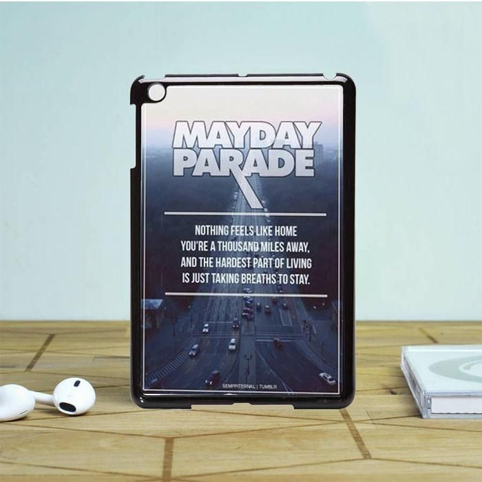 Mayday Parade Lyrics iPad Mini 2 Case Dewantary