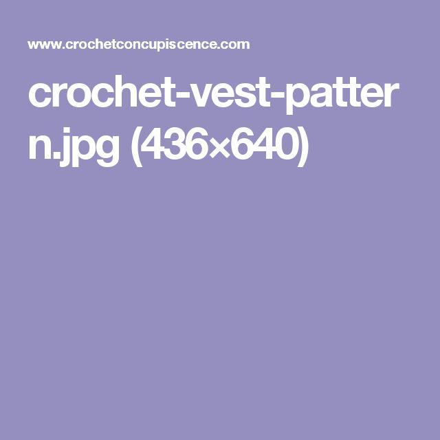 crochet-vest-pattern.jpg (436×640)