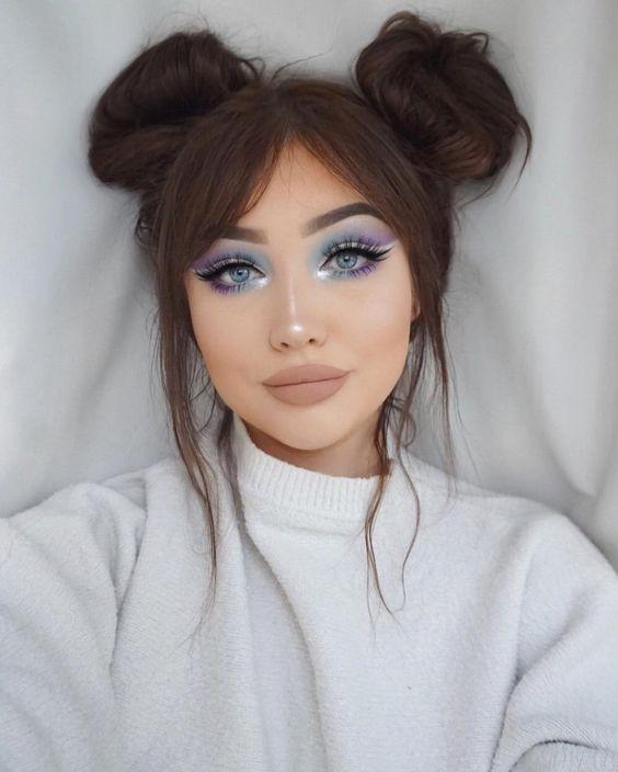 Prueba tonos y colores diferentes #Eyes #Makeup #maquillaje #Ojos