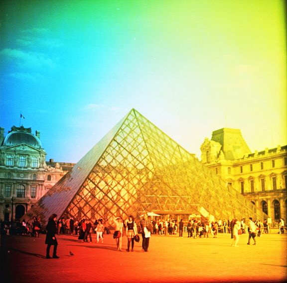 Weekendtrip to Paris with my Girl - Pentacon Six TL