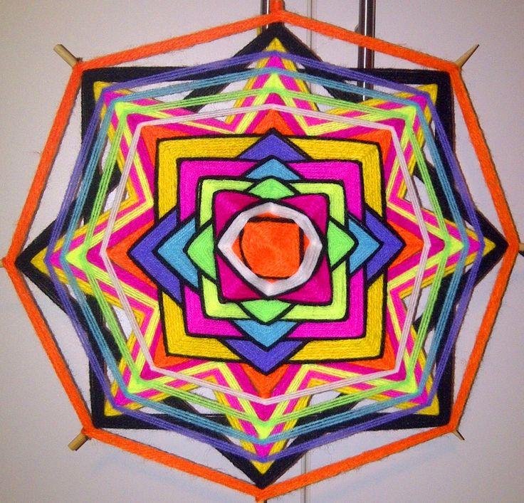 Mandala tejido - Sinestesia trip*