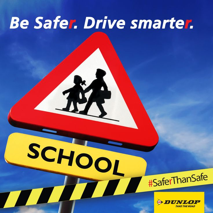 Back to school means back to traffic. Keep safe on the roads.