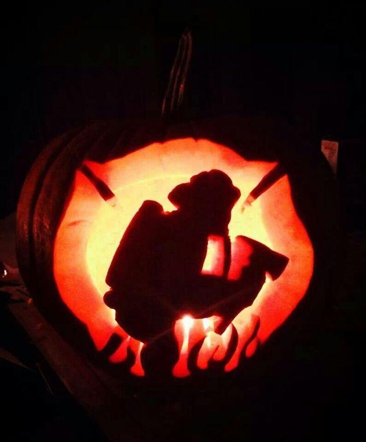 Firefighter Pumpkin