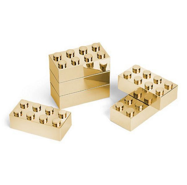 Gold Lego from Think Geek