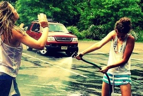 Carwash :): Best Friends, Bffs, Summer Lovin, Summertime, Bestfriend, Carwash, Water Fight, Car Wash, Summer Time