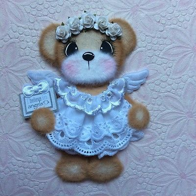 ELITE4U-Laura-ANGEL-BOUTIQUE-GIRL-Tear-BEAR-Premade-Scrapbook-3paperwishes