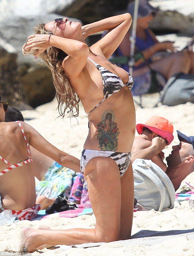 Charlotte Dawson Tattoo