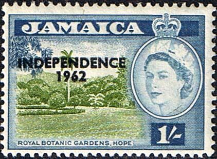 Jamaica 1962 SG 188 Independence Overprint Fine Mint       SG 188 Scott 188 Other Stamps of the west Indies