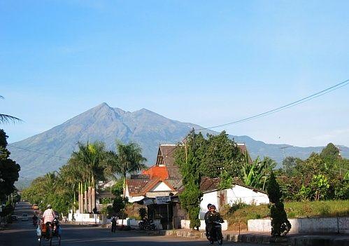 Salatiga and Mt. Merbabu