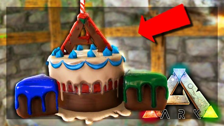 ARK: Survival Evolved Server - BIRTHDAY CAKE! #56