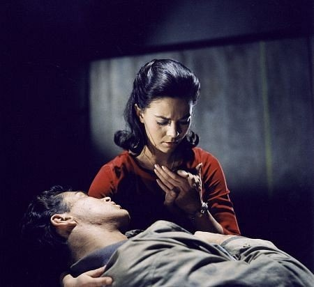 West Side Story.. Tony: I-I didn't believe hard enough. Maria: Loving is enough. Tony: Not here. They won't let us be.