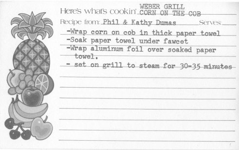 Recipe from old neighbors back in the late 70's.