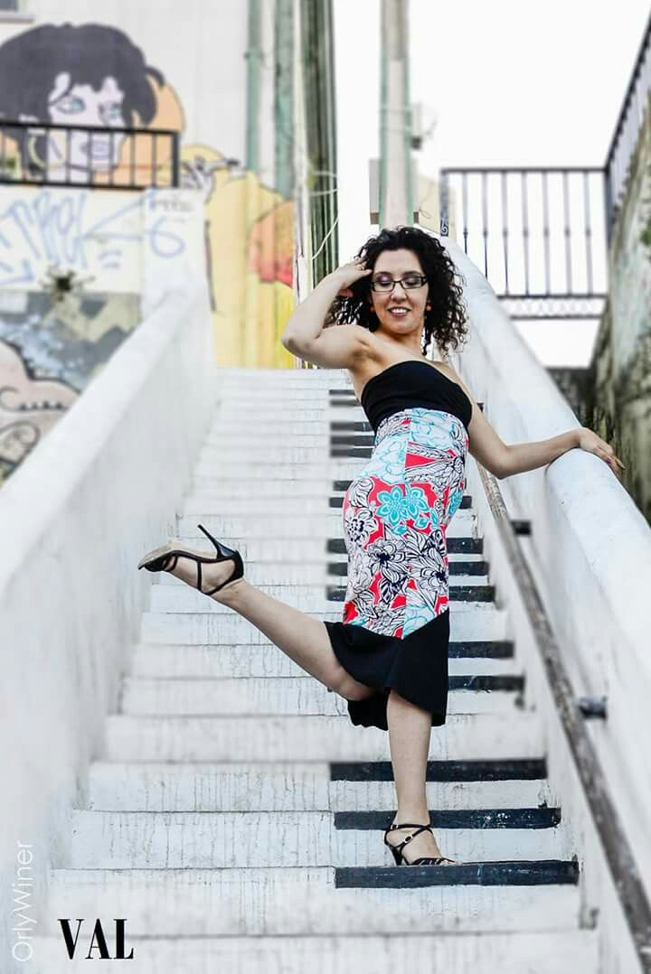 VAL sirena tango dress from Valparaíso, Chile