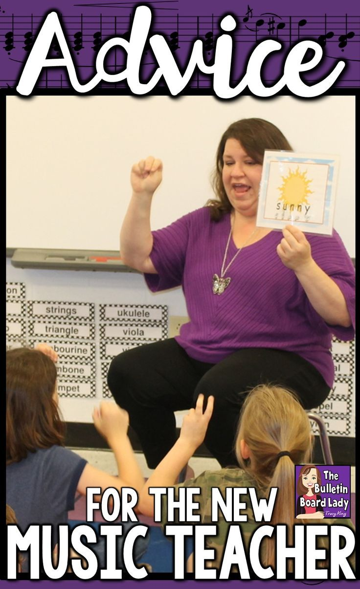 Advice for the New Music Teacher - A candid and humorous look at life as a music teacher.  Ideas for teaching elementary through high school, for your classroom, working with parents, activities, who to friend and more.