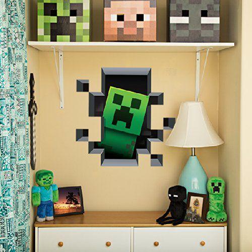 Minecraft Creeper Wall Decal