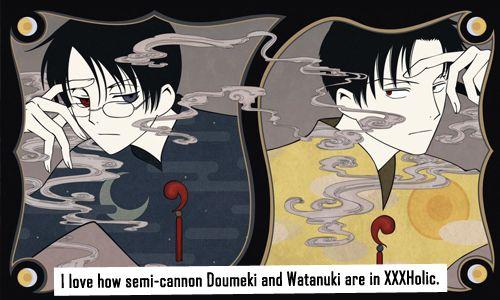doumeki and watanuki relationship