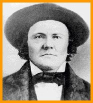 """Christopher Houston """"Kit"""" Carson (Dec. 24, 1809 - May 23, 1868) was an American explorer, guide, fur trapper, Indian agent, rancher, and soldier, who traveled through the southwestern and western USA.   Carson was born in Madison County, Kentucky, but spent his childhood in Boone's Lick, Missouri. In 1826, Carson took a wagon train to the Santa Fe, New Mexico, area. He worked as a fur trapper and got to know the local Indians very well (his first two wives were, respectively, Arapahoe and…"""