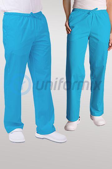 Spodnie uniwersalne, turkusowe. JC119.