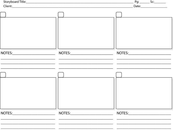 Storyboard Template  Print Storyboard Tem  Staging  Window